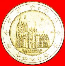 Buy + NORTH RHINE-WESTPHALIA: GERMANY ★ 2 EURO 2011F! LOW START ★ NO RESERVE!
