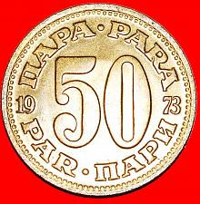 Buy + LARGE TYPE (1965-1981): YUGOSLAVIA ★ 50 PARA 1973 MINT LUSTER! LOW START