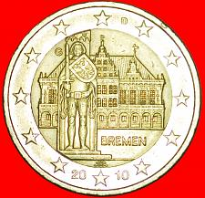 Buy + BREMEN: GERMANY ★ 2 EURO 2010G! LOW START ★ NO RESERVE!