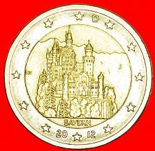 Buy + BAVARIA: GERMANY ★ 2 EURO 2012J! LOW START ★ NO RESERVE!