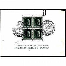 Buy German Used Scott #B102 Catalog Value $12.50
