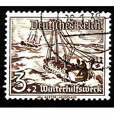 Buy German Used Scott #B107 Catalog Value $.40