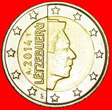 Buy + FRANCE NON-PHALLIC TYPE (2007-2019): LUXEMBOURG ★ 2 EURO 2014! LOW START ★