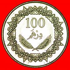 Buy + EQUESTRIAN: LIBYA ★ 100 DIRHAMS 1377-2009 MINT LUSTER! LOW START ★ NO RESERVE!