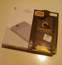 Buy 9/10 Kinda Blue Unlocked Verizon Google Pixel 2 64GB Bundle!
