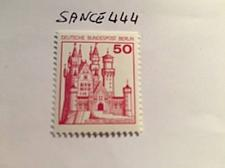 Buy Berlin Castle 50p top imperf. mnh 1977