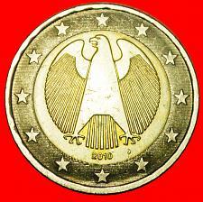 Buy + NON-PHALLIC TYPE (2008-2019): GERMANY ★ 2 EURO 2010J! LOW START ★ NO RESERVE!