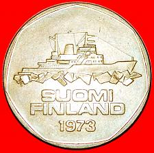 Buy + SHIP ICEBREAKER: FINLAND ★ 5 MARKS 1973S! LOW START ★ NO RESERVE!