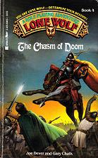 Buy Lone Wolf No. 4 - The Chasm of Doom by Joe Dever Paperback Book - Good