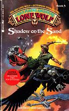 Buy Lone Wolf No. 5 - Shadow on the Sand by Joe Dever Paperback Book - Good