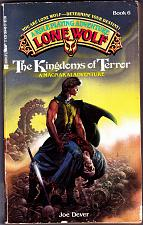 Buy Lone Wolf No. 6 : Kingdoms of Terror by Joe Dever Paperback Book - Good