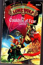Buy Lone Wolf No. 9 - The Cauldron of Fear by Joe Dever Paperback Book - Good