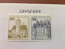 Buy Berlin Castle strip 30+10 top imperf mnh 1977