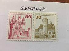 Buy Berlin Castle strip 50+30 top imperf mnh 1977