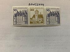 Buy Berlin Castle 10+30+10p top imperf. strip mnh 1980
