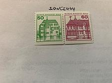 Buy Berlin Castle 50+60p bottom imperf. strip mnh 1980