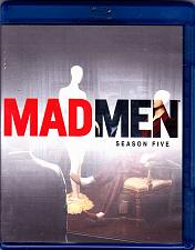 Buy Mad Men - Season Five Blu-ray Disc 2012, 3-Disc Set - Very Good