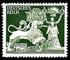 Buy German Hinged Scott #B207 Catalog Value $.45
