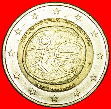 Buy + MONETARY UNION: GERMANY ★ 2 EURO 1999-2009F! LOW START ★ NO RESERVE!