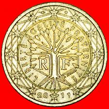 Buy + NON-PHALLIC TYPE (2007-2019): FRANCE ★ 2 EURO 2011! LOW START ★ NO RESERVE!