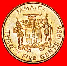 Buy + GARVEY (1887-1940): JAMAICA ★ 25 CENTS 1995 MINT LUSTER! LOW START ★ NO RESERVE