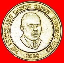 Buy + GARVEY (1887-1940): JAMAICA ★ 20 DOLLARS 2000! LOW START ★ NO RESERVE!