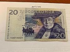 Buy Sweden 20 kronor circulated banknote
