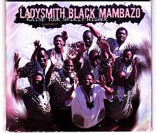 Buy Raise Your Spirit Higher by Ladysmith Black Mambazo CD 2004 - Very Good