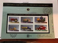 Buy Canada Farm vehicles m/s mnh 1995