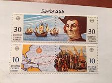 Buy Cyprus Europa 1992 mnh