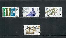 Buy 1968 COMMEMORATIVE SET ANNIVERSARIES ISSUE, MINT HINGED 170519