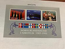 Buy Faroe Islands Nordic house s/s 1993 mnh
