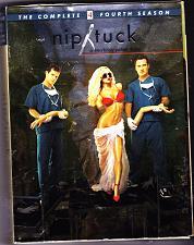 Buy Nip/Tuck - Complete Season 4 DVD 2007, 5-Disc Set - Very Good