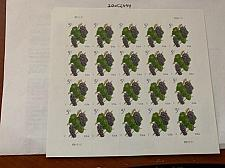Buy United States Grapes sheet 2017 mnh
