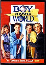 Buy Boy Meets World - Complete 3rd Season DVD 3-Disc Set - Very Good