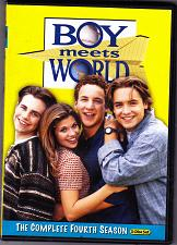 Buy Boy Meets World - Complete Season 4 DVD 2011 - 3-Disc Set - Very Good
