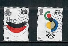 Buy 2004 COMMEMORATIVE SET CULTURAL ENTENTE CORDIALE ISSUE, USED 260519