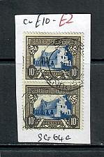 Buy SOUTH AFRICA 10/- PAIR MOUNTED, USED