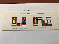 Buy United Nations New York Flag Booklet 1980