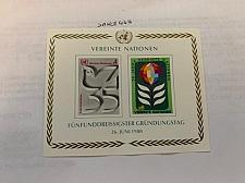Buy United Nations Wien 35 years U.N.O. s/s 1980 mnh