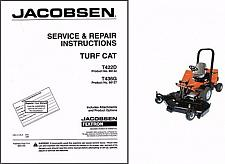 Buy Jacobsen Turf Cat T422D / T436G Riding Mower Service Manual CD