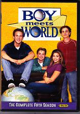 Buy Boy Meets World - Complete Season 5 DVD 2011, 3-Disc Set - Very Good
