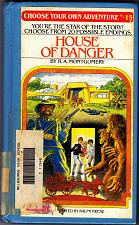 Buy House of Danger (ExLib) by R. A. Montgomery (CYOA) 1982 Hard Cover Book - Good
