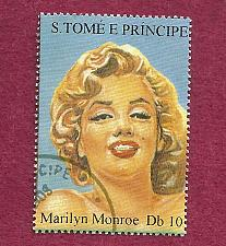 Buy ST. THOMAS & PRINCE ISLANDS 1994 STAMP - Marilyn Monroe