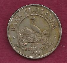 Buy UGANDA 1 Shilling 1966 Coin