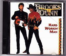 Buy Hard Workin' Man by Brooks & Dunn CD 1993 - Very Good