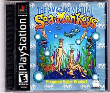 Buy Amazing Virtual Sea-Monkeys - PlayStation 1, 2002 - COMPLETE - Very Good