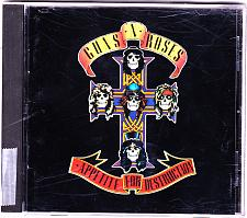 Buy Appetite for Destruction by Guns N' Roses CD 1990 - Very Good