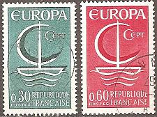 Buy [FR1163] France: Sc. no. 1163-1165 (1966) Used Complete Set