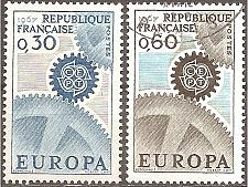 Buy France: Sc. no. 1178-1179 (1967) Used Complete Set
